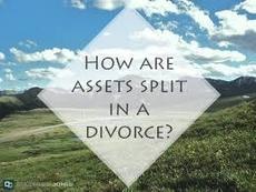 division of assets property divorce